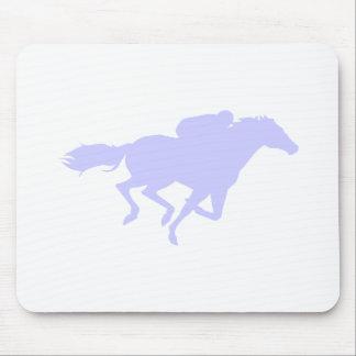 Lavender Blue Mouse Pad