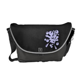 Lavender Blue Paintball Courier Bag