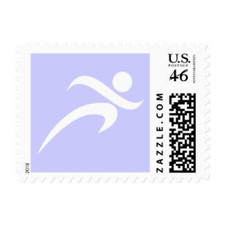 Lavender Blue Running Postage