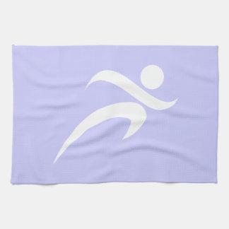 Lavender Blue Running Towel