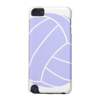 Lavender Blue Volleyball iPod Touch (5th Generation) Cover