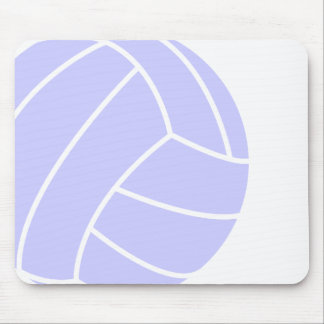 Lavender Blue Volleyball Mouse Pad