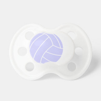 Lavender Blue Volleyball Pacifiers
