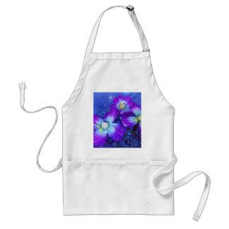 Lavender blues adult apron