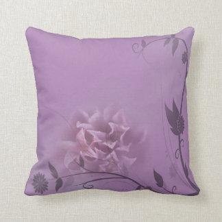 Lavender Blush Throw Pillow