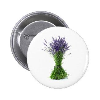 Lavender bouquet button