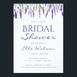 "Lavender Bridal Shower Invitation, Wedding Card<br><div class=""desc"">Lavender Bridal Shower Invitation,  Lavandula Wedding Invitation,  Purple Baby Shower Invitation</div>"