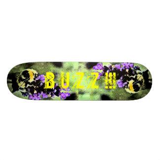 Lavender Bumblebee Fresco Skate Decks