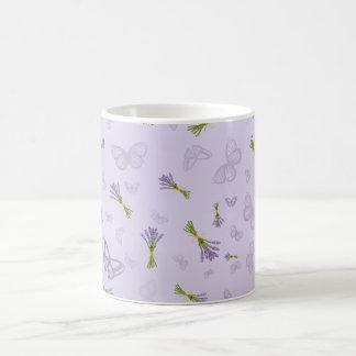 Lavender & Butterflies Coffee Mug