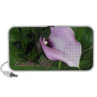 Lavender Calla Lily iPod Speakers