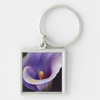 Lavender Calla Lily Keychain