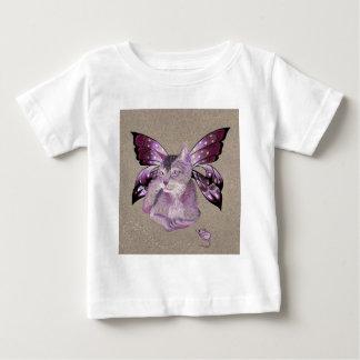 Lavender Cat Baby T-Shirt
