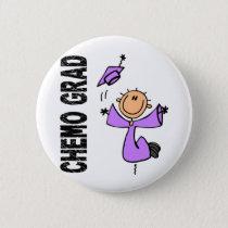 Lavender CHEMO GRAD 1 (General Cancer) Button