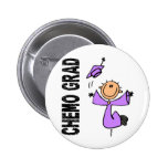 Lavender CHEMO GRAD 1 (General Cancer) Buttons