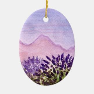Lavender Christmas Tree Ornament