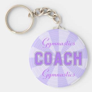 Lavender Coach Key Chain