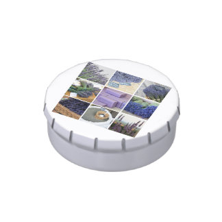 Lavender Collage by ProvenceProvence Candy Tins