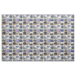 Lavender Collage Fabric