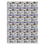 Lavender Collage Tablecloth