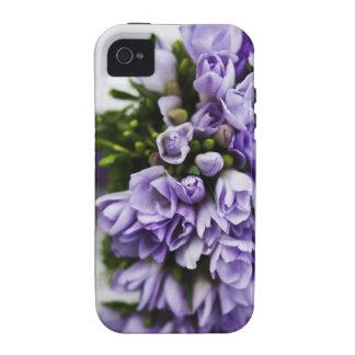 Lavender Crocus Bridal Bouquet iPhone 4/4S Cover