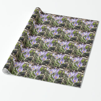 Lavender Crocus' Wrapping Paper