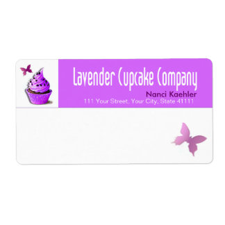 Lavender Cupcake Company Shipping Shipping Labels
