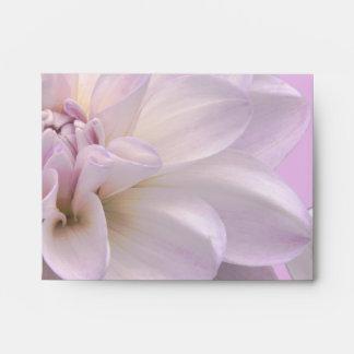 Lavender Dahlia Envelope