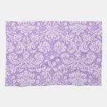 Lavender Damask Towel