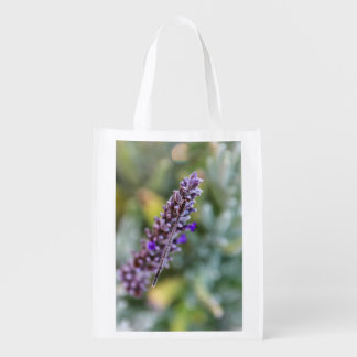 Lavender Damselfly Reusable Bag Reusable Grocery Bags