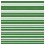 [ Thumbnail: Lavender & Dark Green Lines/Stripes Pattern Fabric ]