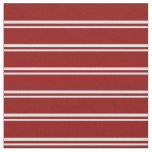 [ Thumbnail: Lavender & Dark Red Colored Lined/Striped Pattern Fabric ]