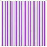 [ Thumbnail: Lavender & Dark Violet Colored Pattern Fabric ]