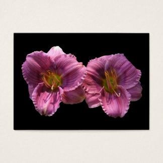 Lavender Day Lilies ~ ATC Business Card