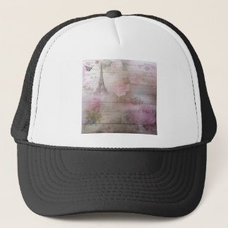 Lavender Decoupage Trucker Hat