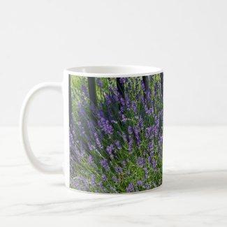 Lavender Delight Thank You Card Coffee Mug