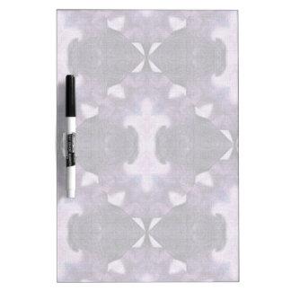 Lavender Diamond Pattern Dry-Erase Board