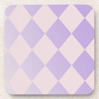 Lavender Diamonds Coaster Set