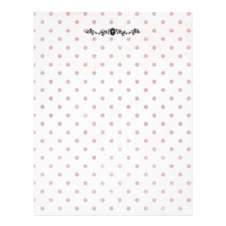 Lavender Dot Cross flyer/scrapbooking paper