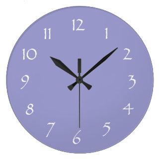 Lavender Dream Round Clock