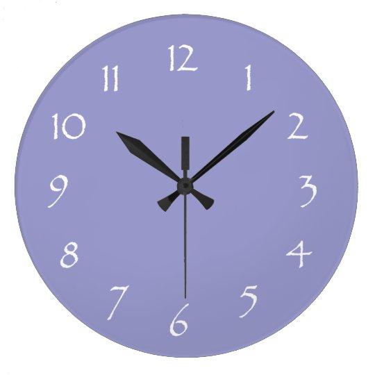 Lavender Dream Large Clock