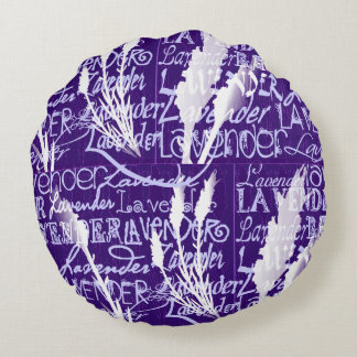 Lavender Dream Round Pillow