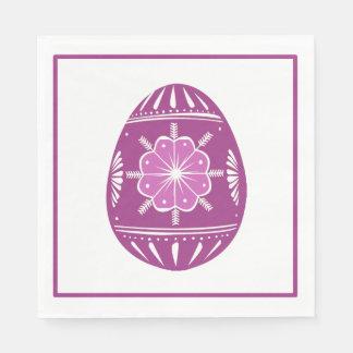 Lavender Easter Egg Classic Chic Paper Napkin