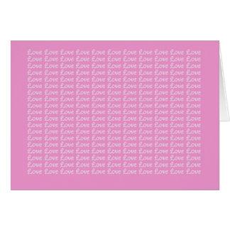Lavender Endless Love Card