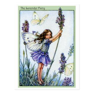 Lavender Fairy Postcard