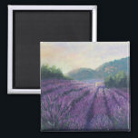 "Lavender Farm magnet<br><div class=""desc"">Imagine yourself waking up to an early morning in Provence every time you check your to do list!</div>"