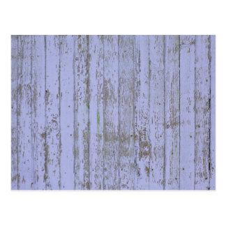 Lavender Faux Wood Texture Postcard