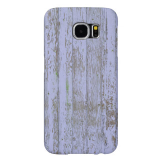 Lavender Faux Wood Texture Samsung Galaxy S6 Case