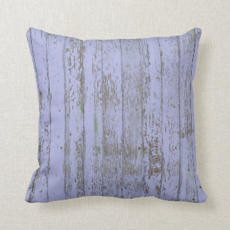 Lavender Faux Wood Texture Throw Pillow