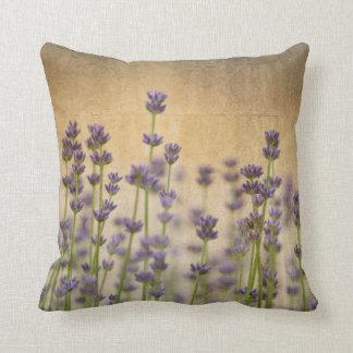 Lavender Field II Throw Pillow
