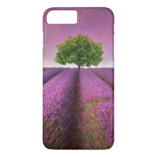 Lavender Field Landscape Summer Sunset iPhone 8 Plus/7 Plus Case